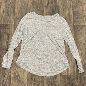 LOFT Heather Gray T-Shirt